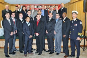 North Hudson Regional Fire and Rescue Hiring Ceremony